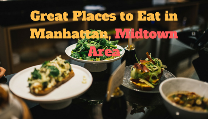 Great Places to Eat in Manhattan