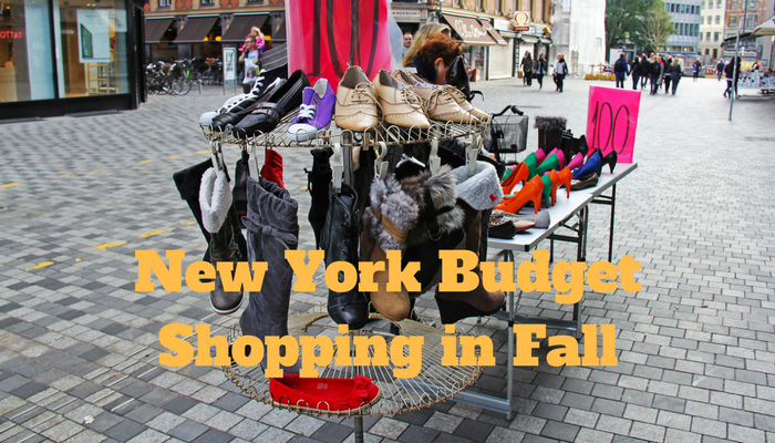 New York Budget Shopping in Fall
