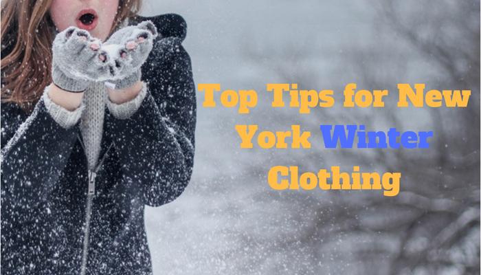 New York winter clothing